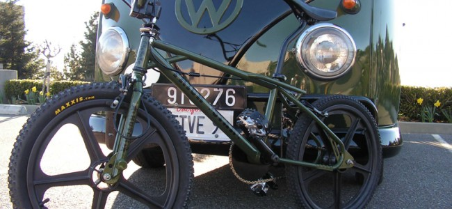 VW Bus & Custom Bikes