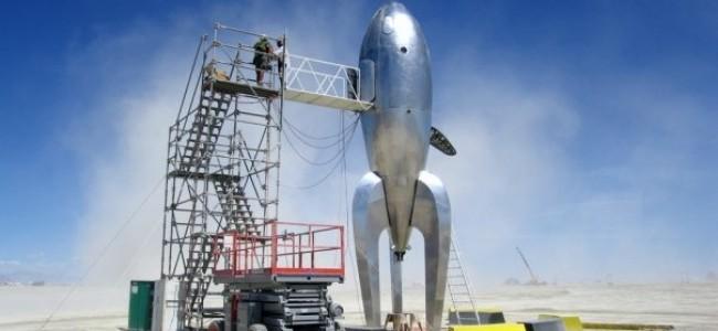 Rocketship -  5 Ton Crane